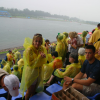 Monsoon hits Beijing Olympics, then disappears