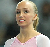 Olympic Champion Gymnast Nastia Liukin is bigger than Brad Blanks